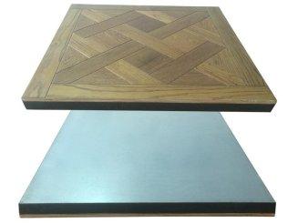 Raised Floor With Wood Flooring Finish