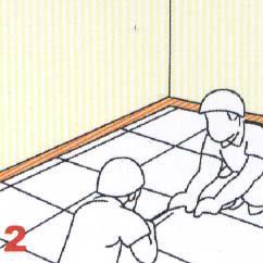 Raised Floor Installation for Corner Lock System