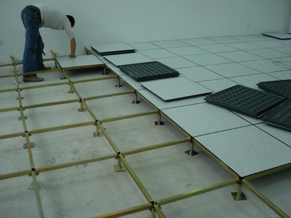 Raised Floor Installation(Stringer System)