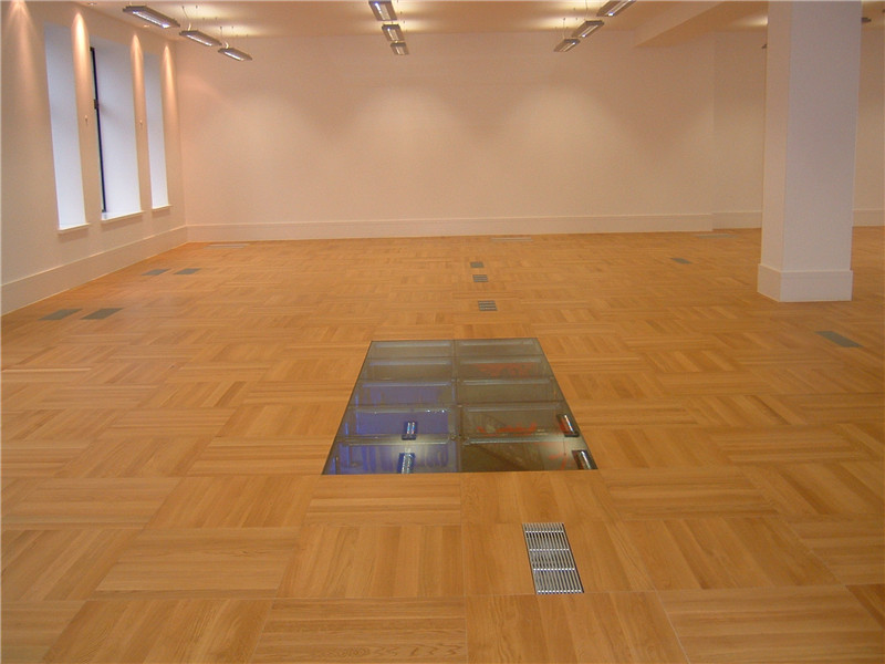 Glass Raised Floor
