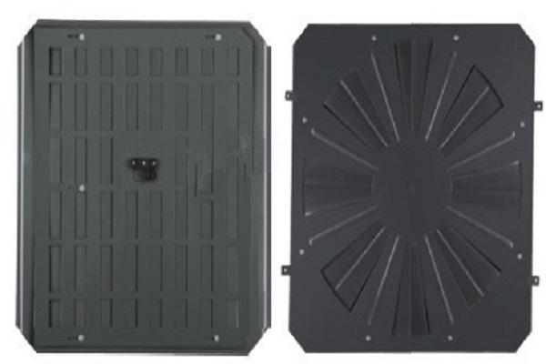 Perforated panel damper