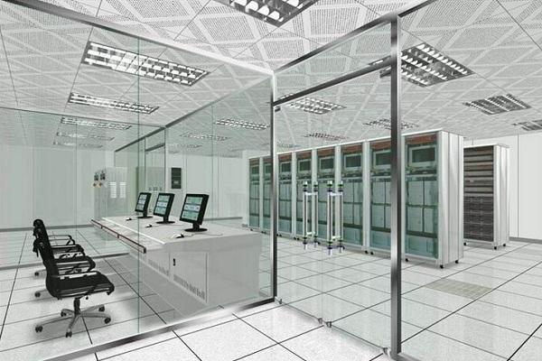computer room floor