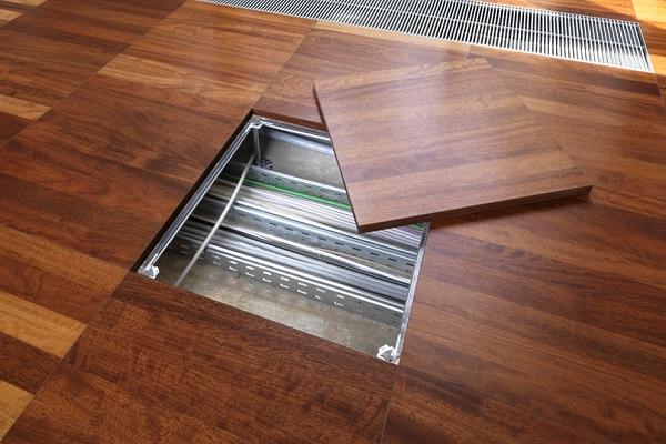 raised floor maintance of surface
