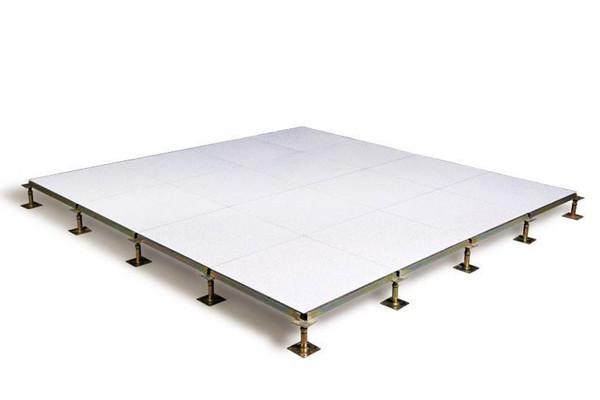 raised floor without edge trim