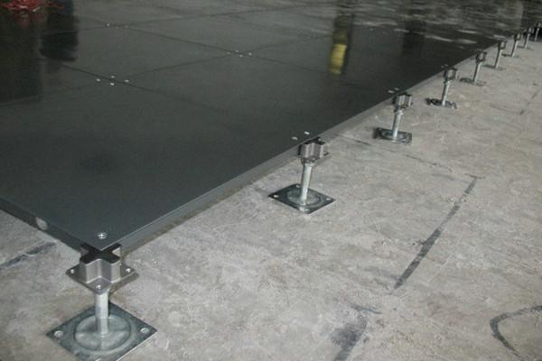 install rasied floor